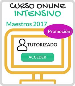 Curso Online Oposiciones Maestros