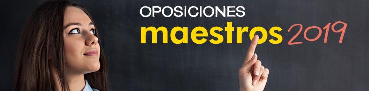 Formacion online Oposiciones a maestro 2019